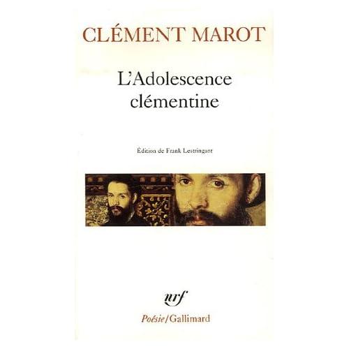Adolescence Clementine (Poesie/Gallimard) (French Edition)