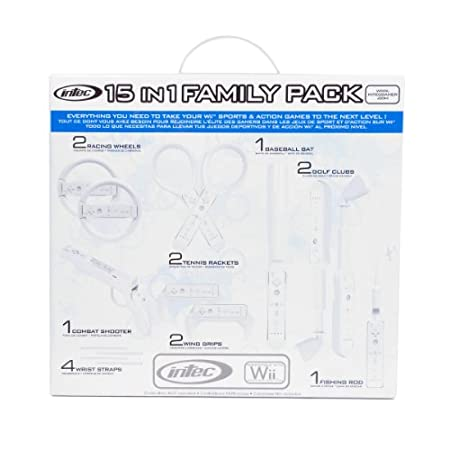 Wii 15-in-1 Family Pack - White