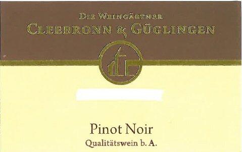 2012 Cleebronner Pinot Noir Kabinett