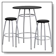 Tall Kitchen Table and Stools
