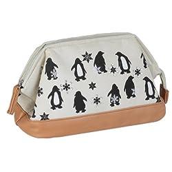 (ティーアンドティーコーポレーション)T&T CORPORATION pouch ポーチ ペンギン 31205-00