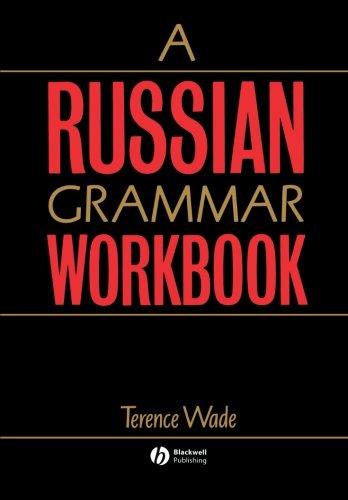 A Russian Grammar Workbook