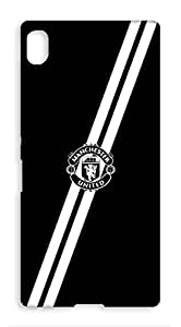 Sony Xperia Z3 Plus Manchester United Football Club Design Back Cover - Printed Designer Cover - Hard Case - SXZ3PCMBMUFC0164