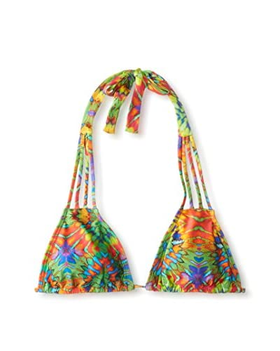 Luli Fama Women's Aguanile Multi String Triangle Top