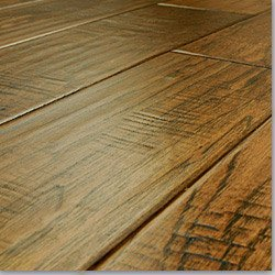 Harbors Collection - Handscraped Engineered Wood Flooring Hickory - Charlotte / 5 in. / 1/2 in. / Le