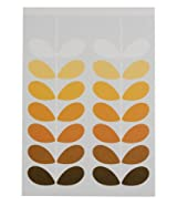 Orla Kiely Natural Stem Flip Top Notepad