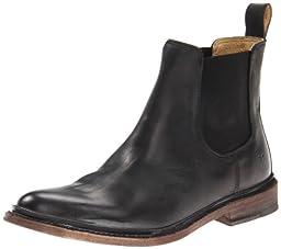 FRYE Men\'s James Chelsea Boot Black 8.5 M US