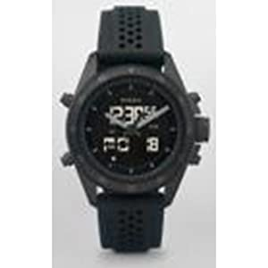 7977f2e61c33 you re want to buy Fossil Men s BQ9414 Silicone Analog-Digital with Black  Dial Watch