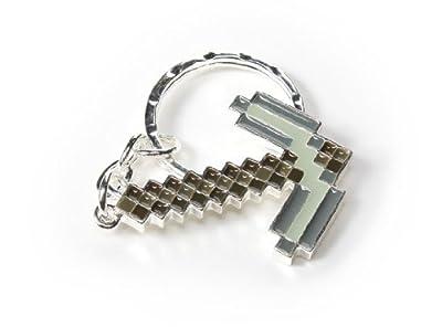 Jnx - Minecraft Metal Keychain Pickaxe by J!NX