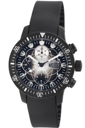 Fortis Hommes 638.28.17 K B-42 Noire Montre chronographe