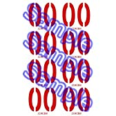 VOCALOID ボーカロイド MEIKO メイコ コスプレ用タトゥーシール(大文字)
