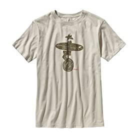 (パタゴニア)patagonia M's Live Simply Unicycle T-Shirt