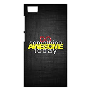 a AND b Designer Printed Mobile Back Cover / Back Case For Xiaomi Mi 3 (XOM_MI3_3D_2828)