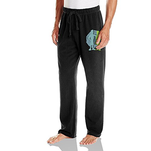 Caryonom Mens Wild Kratts Jersey Sweatpant Black M Boys Canvas Carpenter Short