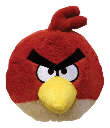 Angry Birds 4 Inch Mini Plush Toy Red Bird - 1