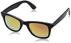 MTV Roadies Wayfarer Sunglass (Black) (RD-112-C7)