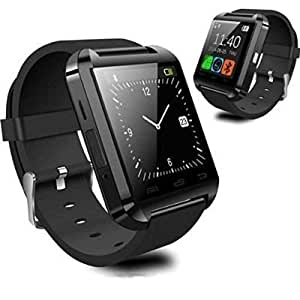 High Quality Touch Screen U8 Black Smart Notification Watch Bluetooth Watch Compatible with Videocon V1405