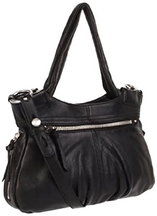 HOBO INTERNATIONAL Great Lengths Tote,Black,one size