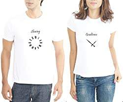 LaCrafters Couple Tshirt - Sharing Goodtimes White_Medium