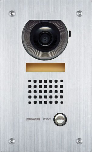 Aiphone Ax-Dvf Flush-Mount Audio/Video Door Station For Ax Series Integrated Audio & Video Security System front-531041