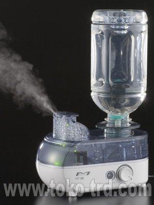 超音波式ペットボトル加湿器 HT-88