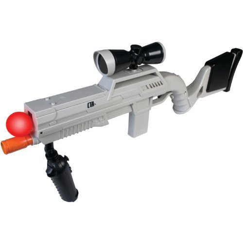 Us Army Sniper Action Rifle For Playstation Move front-818484