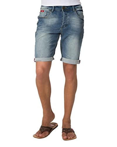 LEE COOPER Shorts Denim [Denim Washed]