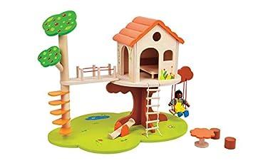 Lelin Toys - 30743 - Maison De Poupée - La Cabane Dans L' Arbre