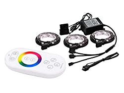 Deepcool RGB 330 RGB Color LED with 360 Degree, Omni Direction Radio Remote, for Computer (3 X 300MM)