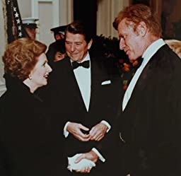 Margaret Thatcher Ronald Reagan Charlton Heston Photo 8x8