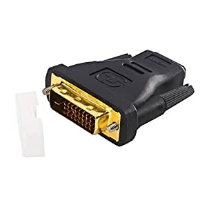 Insten® HDMI-F to DVI-M Video Adaptor with Gold Contacts