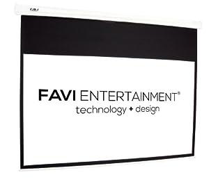 "FAVI 100 inch 16:9 Electric Projector Screen (87"" x 49"")"
