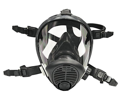 Survival Air Systems 9814-06 Large Opti-fit Multi-Use Full Face Respirator (Full Face Air System compare prices)
