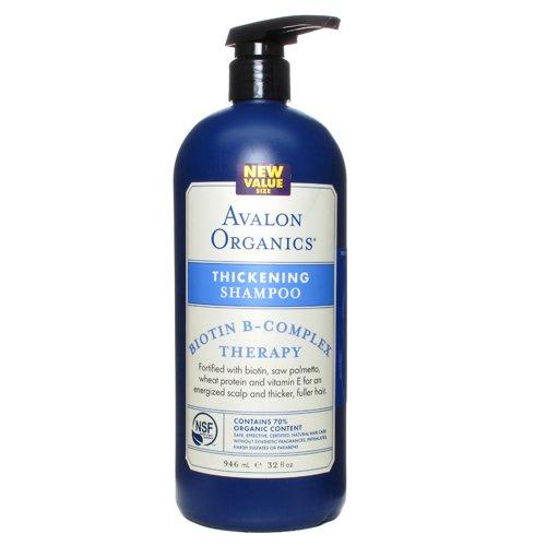 大瓶装,Avalon Organics B族防脱 洗发水 946ml图片
