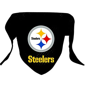 Hunter MFG Pittsburgh Steelers Mesh Dog Bandana, Small