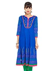 LOVELY LADY Ladies Cotton Printed KURTI - B00ZCBY7WE
