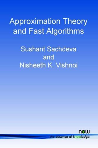 Faster Algorithms Via Approximation Theory (Foundations and Trends(r) in Theoretical Computer Science)