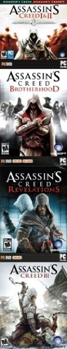 Assassin'S Creed Collection: 1, 2 (With Brotherhood & Revelations) & 3 front-915688