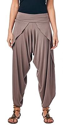 Popana Modern Harem Yoga Palazzo Pants Hybrid - Made In USA