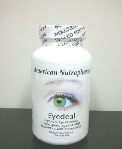 American Nutrapharm Eyedeal 120-Ct Capsules