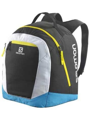 Salomon Original Gear Backpack black / process blue / white / noir Taille Uni
