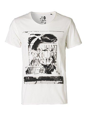 !Solid -  T-shirt - Maniche corte  - Uomo bianco XL