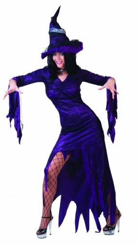 Funny Fashion 504188 - Hexe Mysterie, Größe 40-42