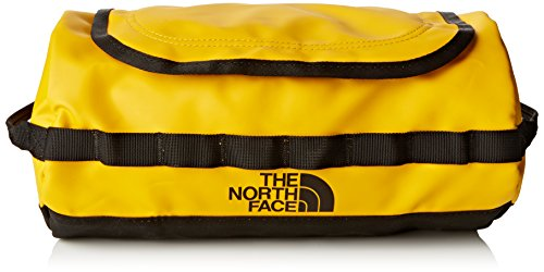 The North Face Bc Travel T0A6SRZU3OS - Borsa da viaggio/Beauty Case, Colore: Multicolore Oro / TNF nero, 18 x 15.25 x 15.25 cm, 57 Litri