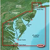 Garmin BlueChart g2 Vision New York to Chesepeake Saltwater Map microSD Card