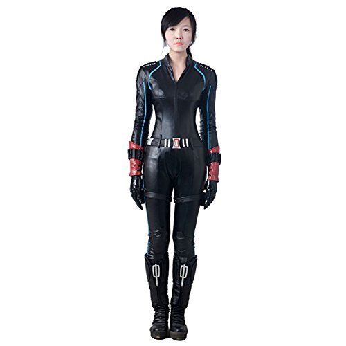 Cosplay Costume Marvel's the Avengers Black Widow Anime