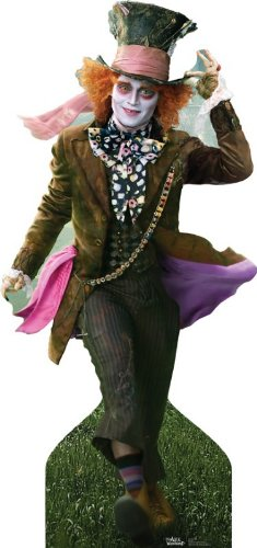 Mad Hatter (Alice in Wonderland) Life-Size Standup Poster , 37x78
