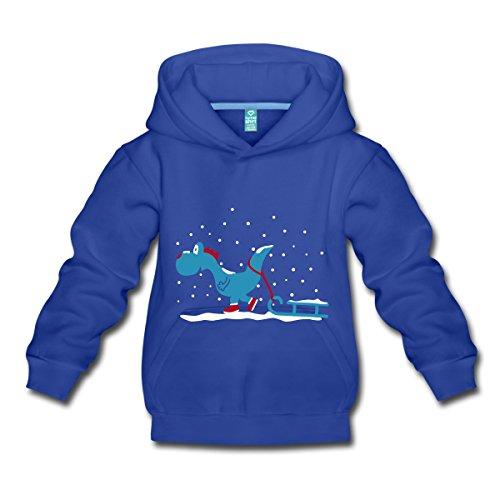 Dragon-En-Hiver-Pull--capuche-Premium-Enfant-de-Spreadshirt