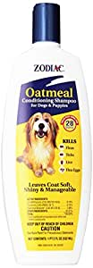 Zodiac Oatmeal Conditioning Shampoo for Dogs & Puppies, 18-ounce