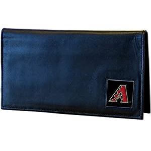 MLB Arizona Diamondbacks Deluxe Leather Checkbook Cover by Siskiyou Sports